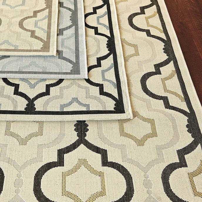 Saybrook Indoor/Outdoor Rug | Ballard Designs