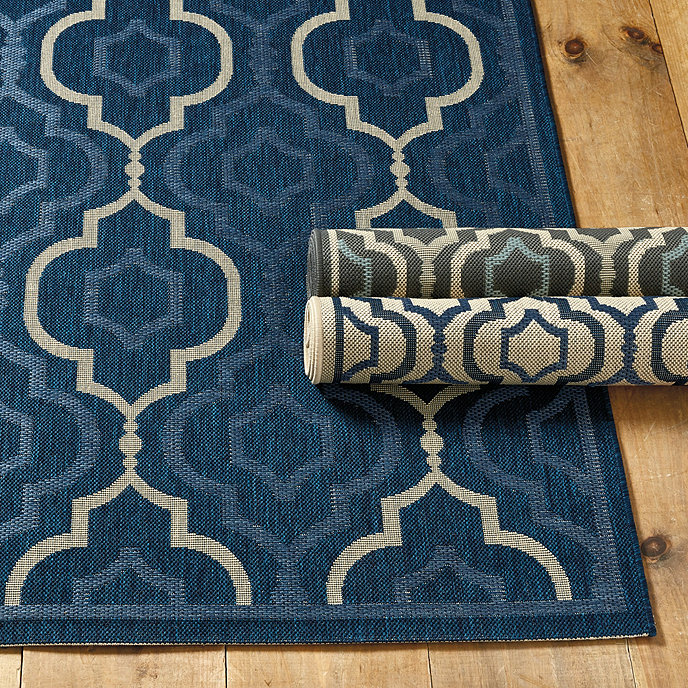 Brookstone Indoor/Outdoor Rug | Ballard Designs