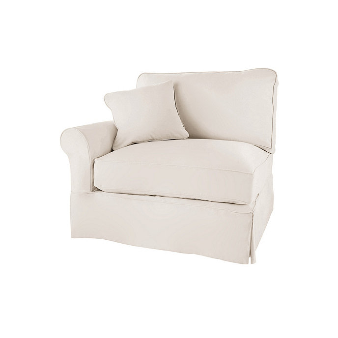 Baldwin Left Armchair Slipcover