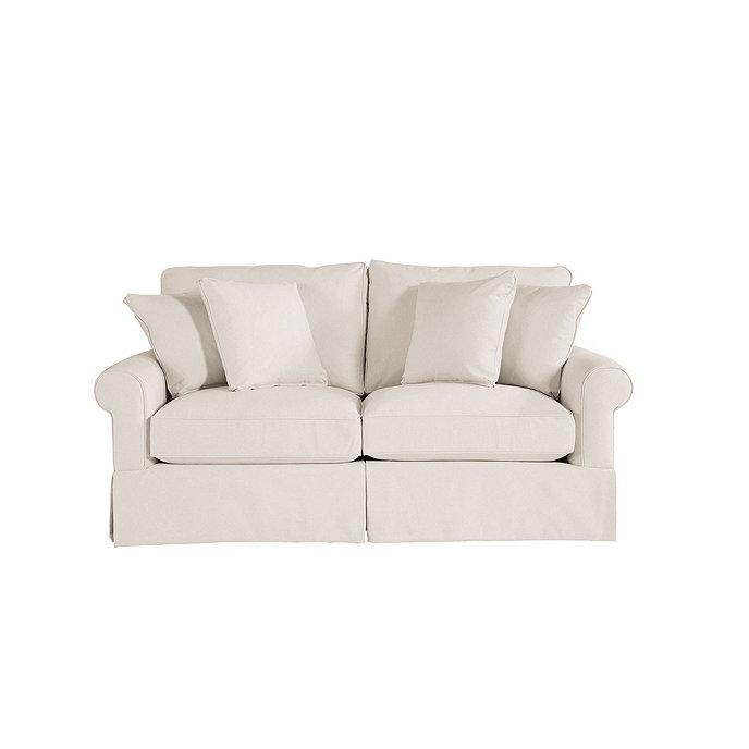 Baldwin Apartment Sofa Slipcover and Frame   Ballard Designs