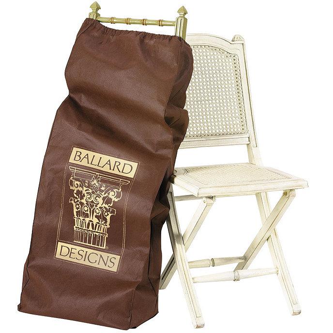 folding chair storage bags set of 4 ballard designs