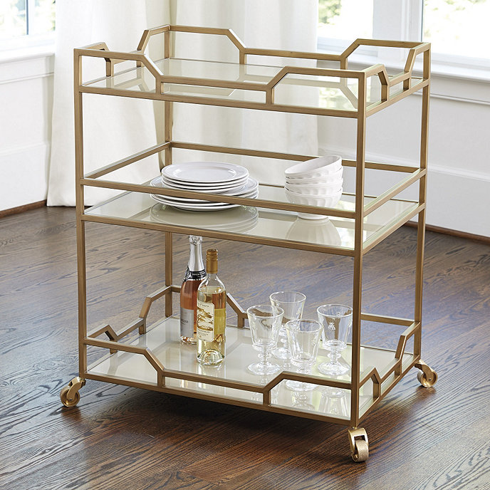 jules bar cart ballard designs. Black Bedroom Furniture Sets. Home Design Ideas