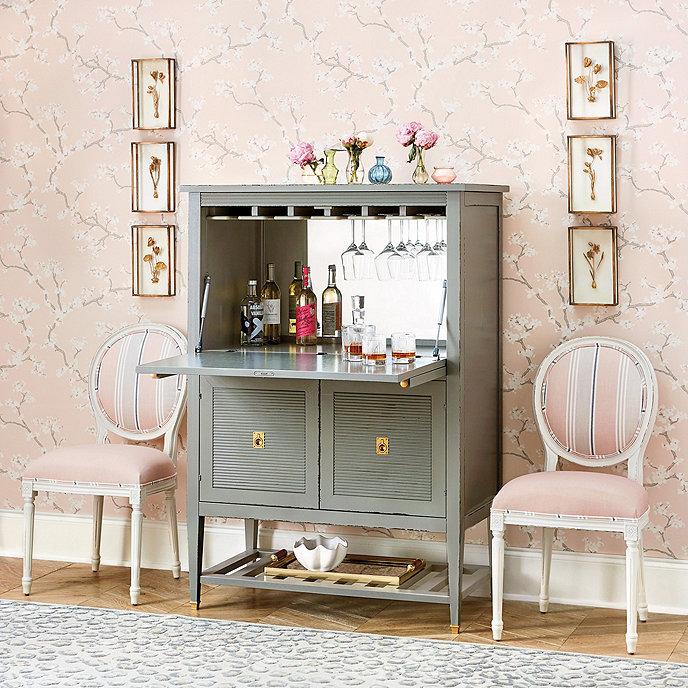 Biaggi bar cabinet ballard designs - Modern bar cabinet designs for home ...