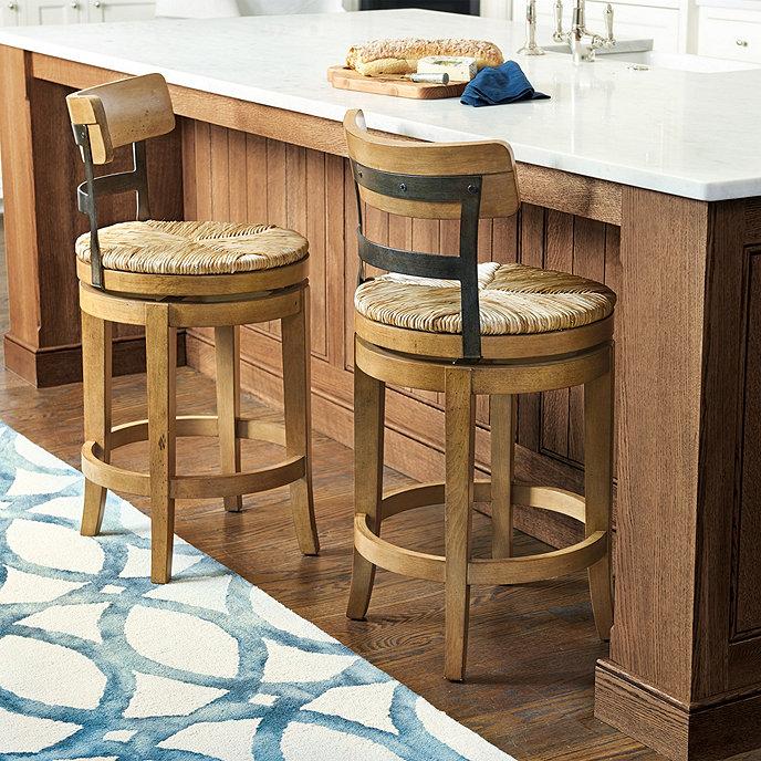 Ballard Design Kitchen Chairs: Marguerite Stools