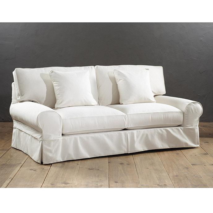 Monterey Apartment Sofa Slipcover Special Order Fabrics Ballard Designs