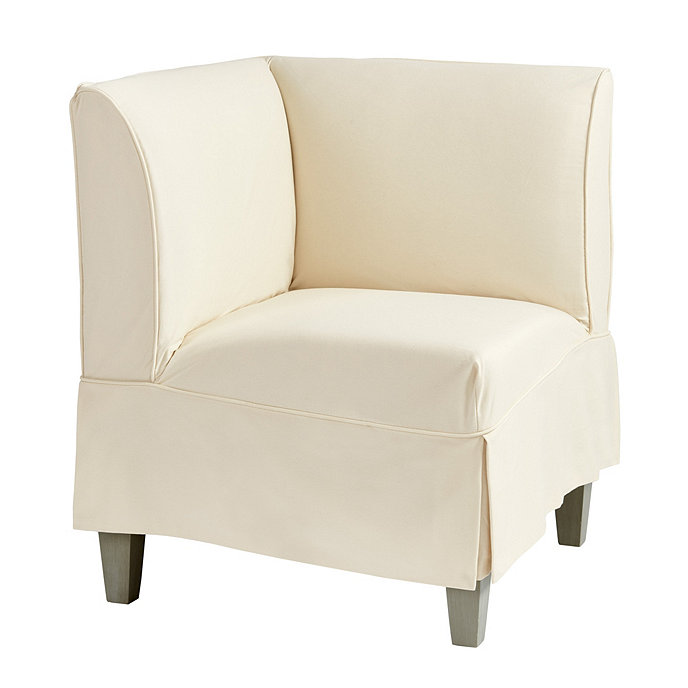 Bristol Slipcovered Seating Corner Bench Short Slipcover Share This Item Customer PhotosBallardDesigns
