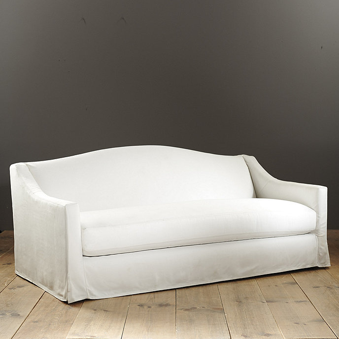 Riviera Indoor/Outdoor Sofa with Slipcover - Made to Order Fabrics ...