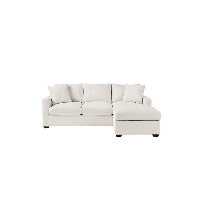 apricot sectional sofa orson reversible sectional ballard designs