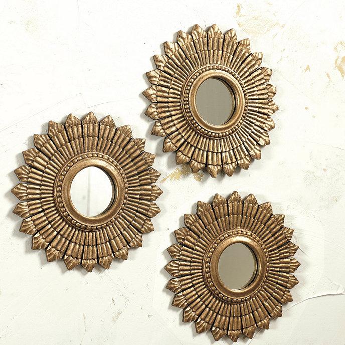 Suzanne Kasler Sunburst Mirror - Set of 3 | Ballard Designs