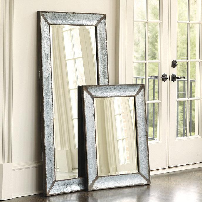 Zinc Framed Mirror
