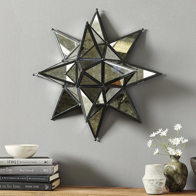 Kenza Moravian Star Mirror