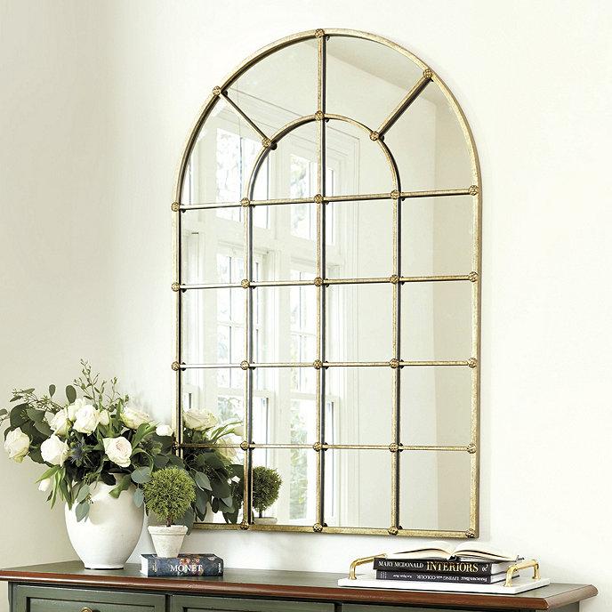 Grand Palais 54 Quot Arch Mirror Ballard Designs