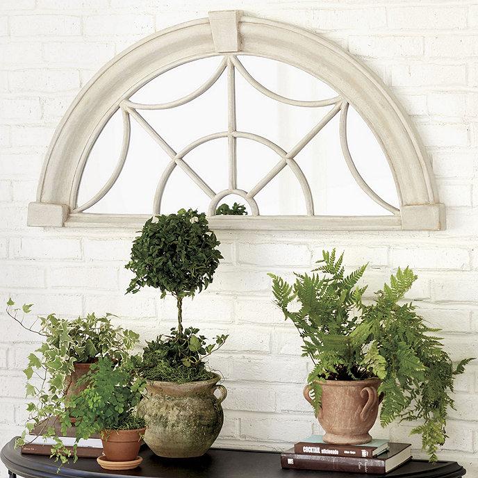 Bunny Williams Transom Indoor/Outdoor Mirror