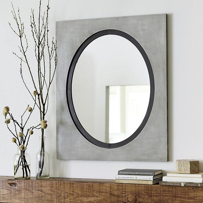 Suzanne kasler saxony zinc mirror