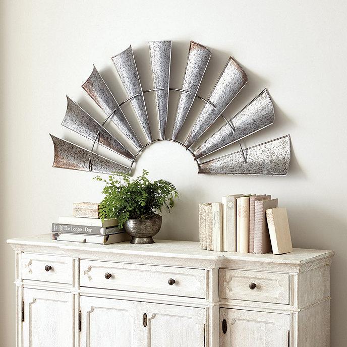 Windmill wall décor