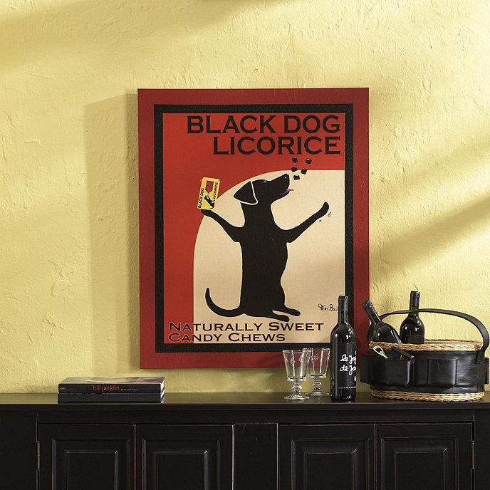 Black Dog Licorice Print | Ballard Designs