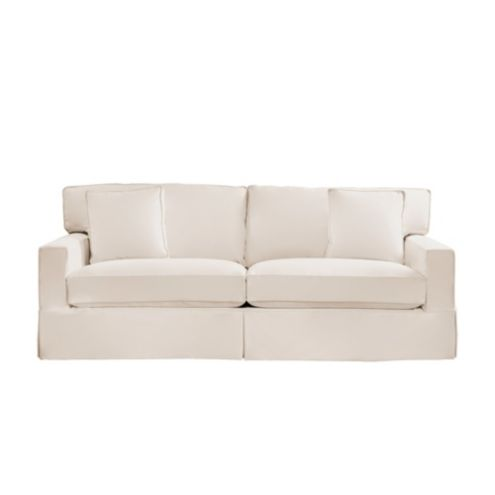 Baldwin Queen Sleeper Sofa Slipcover and Frame Ballard Designs