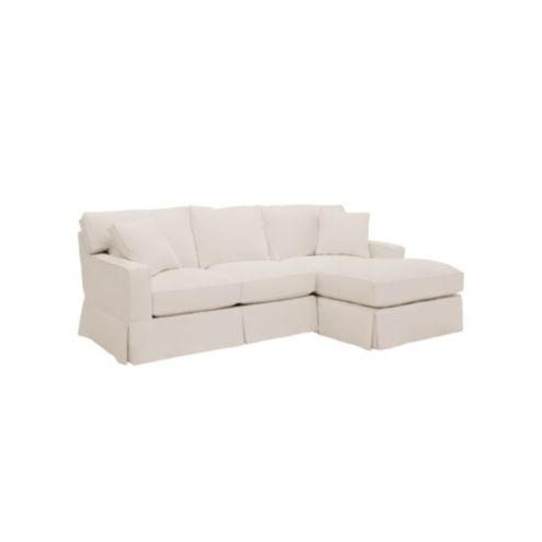 Graham 2-Piece Sectional with Right Arm Chaise and
