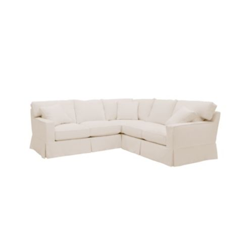 Graham 3-Piece Sectional Slipcover - Special Order Fabrics