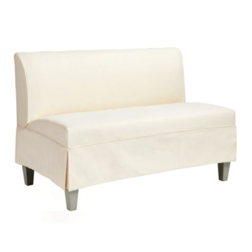 Bristol Slipcovered Seating/48' Bench Short Slipcover