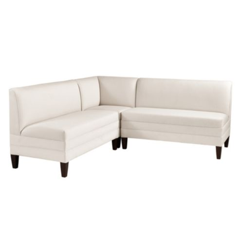 Bristol Sectional: Corner Bench with Two 48' Benches