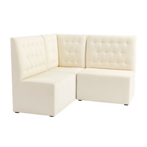 Belmont Sectional: Corner Bench and Two 36' Benches