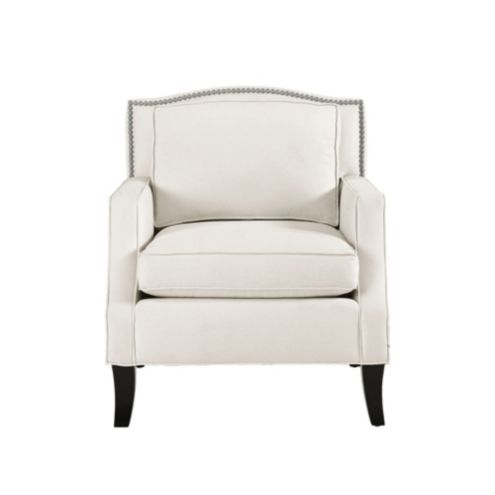 Carlton Chair with Pewter Nailheads