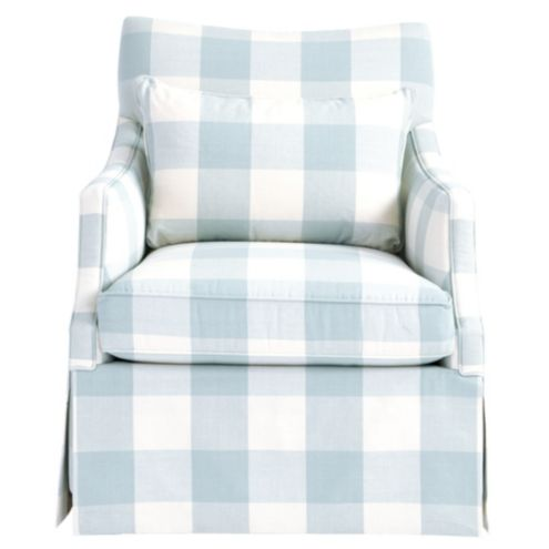 Larkin Swivel Glider in Buffalo Check Spa -