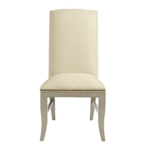 Hamilton Side Chair with Brass Nailheads