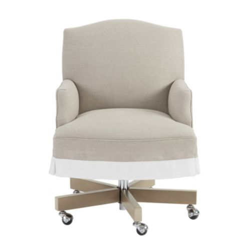 Suzanne Kasler Kate Skirted Desk Chair