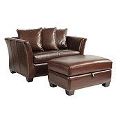 all leather chair and ottoman ballard designs