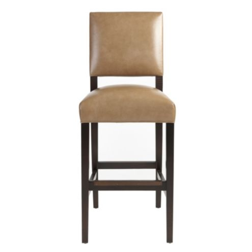 Hayward Leather Barstool Ballard Designs