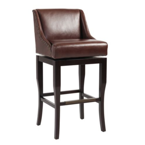 Marcello Leather Barstool