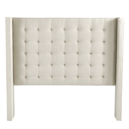 Tyler Tufted Wing Headboard