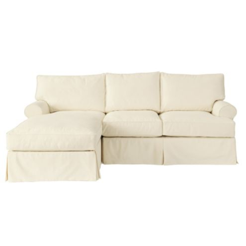 Davenport 2-Piece Sectional with Left Arm Chaise Frame