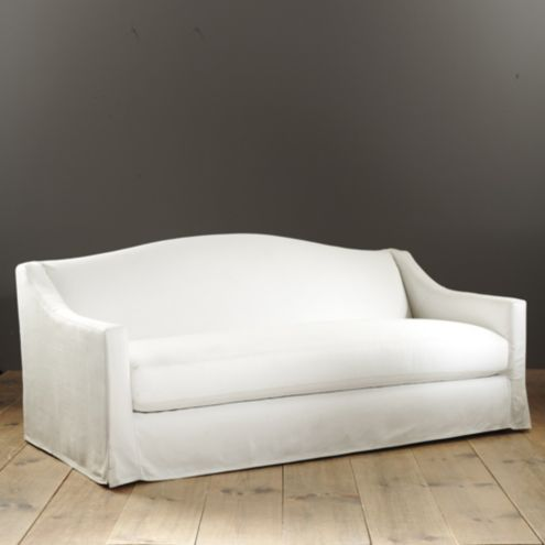 Riviera Indoor/Outdoor Sofa with Slipcover - Made to