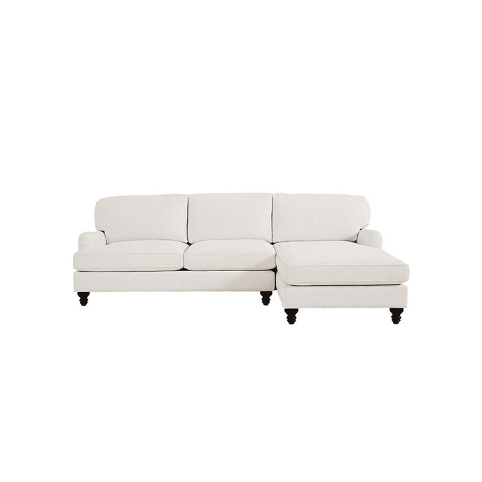 Superbe Eton 2 Piece Sectional With Left Arm Apartment Sofa And Right Arm Chaise