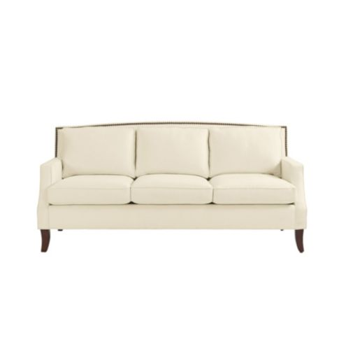 Carlton Sofa with Brass Nailheads