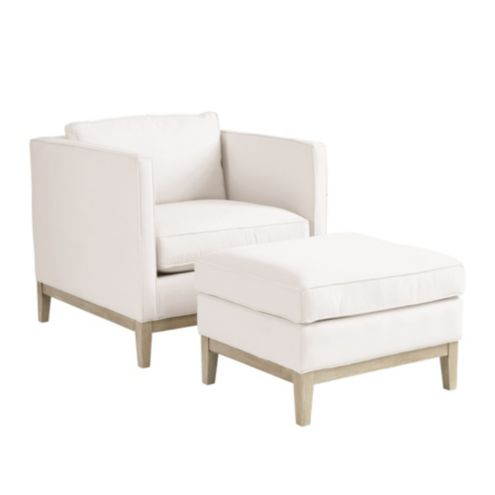 Marni Chair and Ottoman