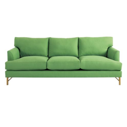 Kathryn Sofa in Everyday 10oz Linen Green