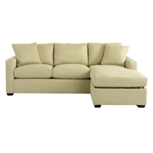 Orson Sectional in Posh Oat Sunbrella® Performance