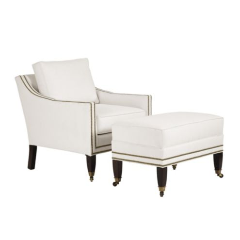 Griffin Club Chair And Ottoman