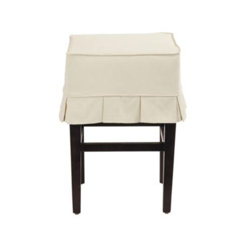 Mallory Slipcovered Counter Stool