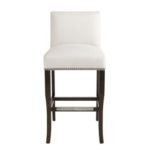 Harris Barstool with Pewter Nailheads