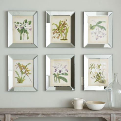 Orchids In Mirror Frame Ballard Designs