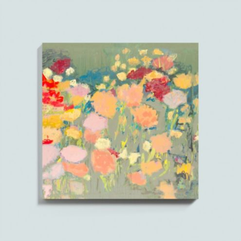 Flower Dance Stretched Canvas
