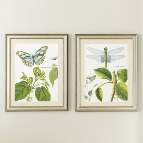 Garden Whimsey Art - Set of 2