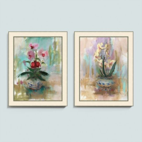 Orchid Bliss Art - Set of 2