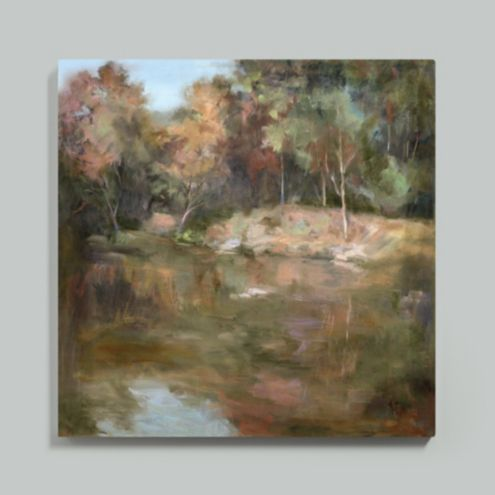 Autumn Afternoon Stretched Canvas