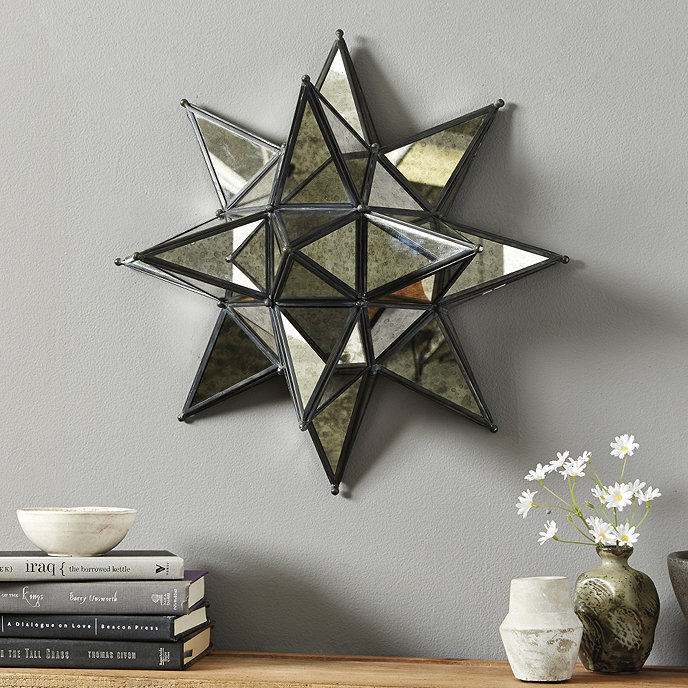 Kenza Moravian Star Mirror | Ballard Designs